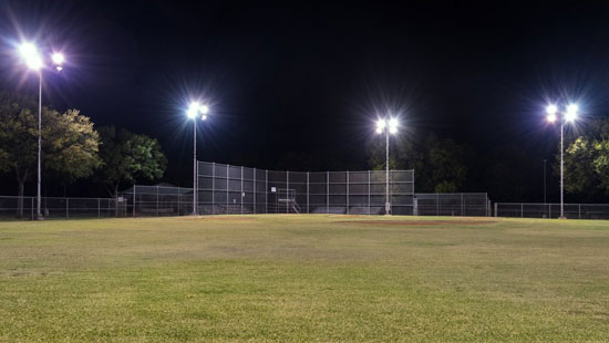 Commercial Sports Lighting